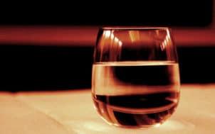 Le verre à eau toute une histoire...
