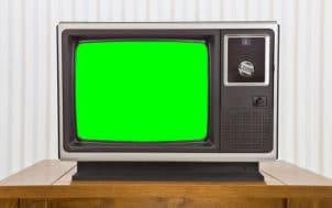 Eau vue à la télé