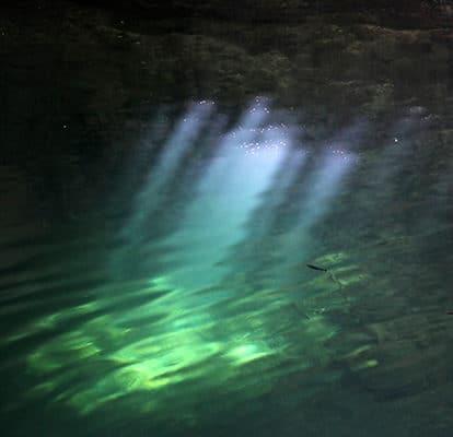 Des eaux souterraines