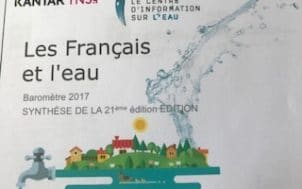 Les français ont toujours une bonne opinion de leur eau