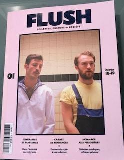 Flush, le magazine qui s'intéresse aux toilettes