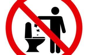 Un projet de loi pour que nos toilettes ne soient plus des poubelles