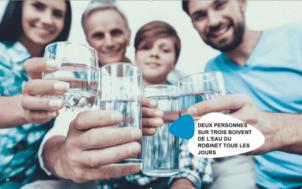L'eau en bouteille est-elle meilleure que l'eau du robinet ?