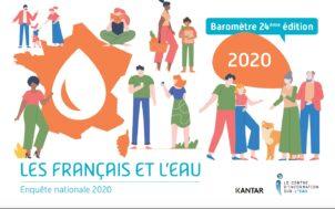 """""""Les Français et l'eau 2020"""""""